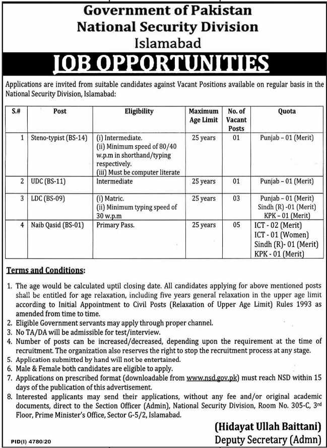 National Security Division Jobs 2021